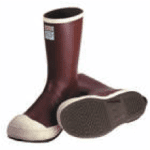 Slip/Chemical Resistant Boots w/Steel Toe