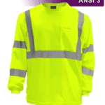 Hi-Vis Reflective Long Sleeve Shirt