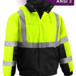 Hi-Vis Reflective Winter Parka