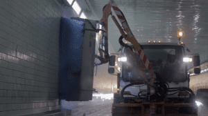 Highway Tunnel Cleaning